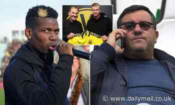 Mino Raiola insists Paul Pogba needs to be in a team that is competing for trophies