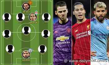 Who makes our Premier League team of the decade?