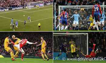 The top 10 goals in the Premier League over the last decade