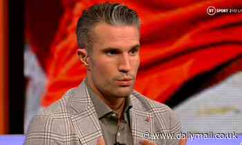 Robin Van Persie offers advice to Marcus Rashford amid Cristiano Ronaldocomparisons