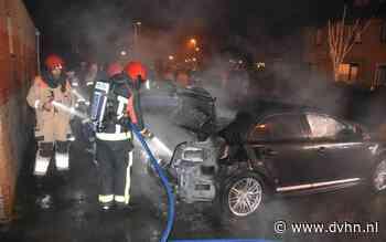 Auto aan Froukemaheerd uitgebrand