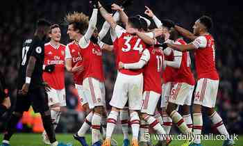 Arsenal 2-0 Manchester United: Nicolas Pepe and Sokratis Papastathopoulos fire Gunners to  win