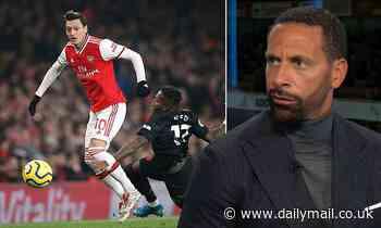 Rio Ferdinand lauds Mesut Ozil's performance in Arsenal's win over Manchester United