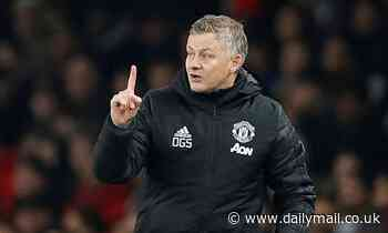Solskjaer admits Man United are chasing 'one or two' additions in the January transfer window