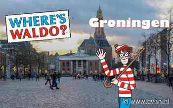 Nieuw spel in Groninger binnenstad: rondlopende Waldo's zoeken