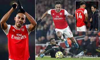 Pierre Emerick-Aubameyang eases Mikel Arteta's fears over Arsenal departure