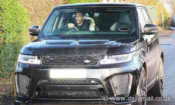Martial and Lingard leave Manchester United training just FIFTEEN MINUTES after arriving