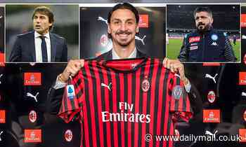 SERIE A WEEKEND PREVIEW: Zlatan Ibrahimovic in line to make second AC Milan debut