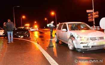 Flinke schade bij ongeluk op N33 bij Holwierde