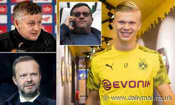 Manchester United attempted to cut super agent Mino Raiola out of deal to buy Erling Haaland