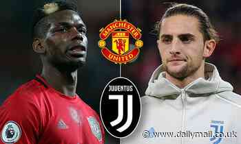 Juventus 'plan to offer Manchester United Adrien Rabiot AND cash' for Paul Pogba in January
