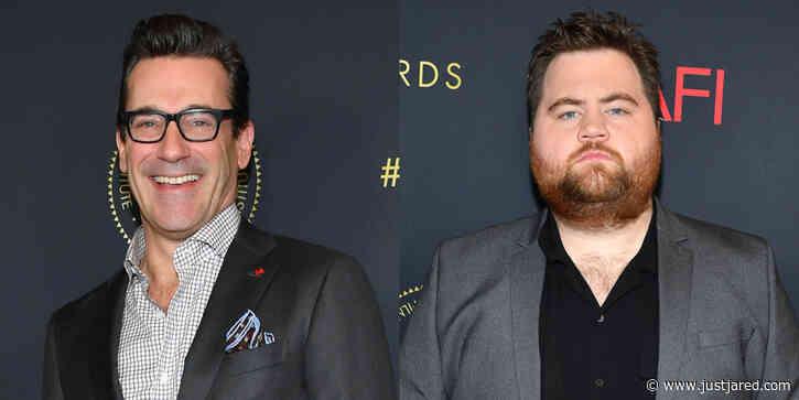 Jon Hamm Joins 'Richard Jewell' Co-Star Paul Walter Hauser at AFI Awards 2020!