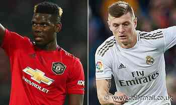 Manchester United 'could seek Toni Kroos in part-exchange deal should they sell Paul Pogba'