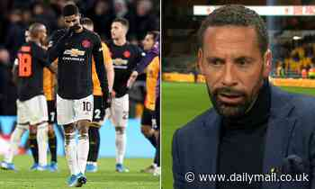 Rio Ferdinand frustrated with Manchester United's dismal display at Wolves
