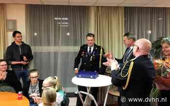 Brandweerman Mandy Ammeraal krijgt koninklijke onderscheiding