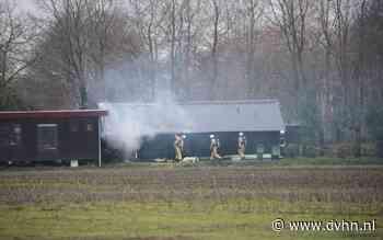 Schuur beschadigd bij brand in Kiel-Windeweer