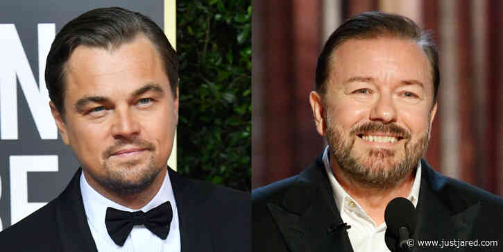 Leonardo DiCaprio Laughs at Ricky Gervais' Joke About His Dating Life at Golden Globes 2020
