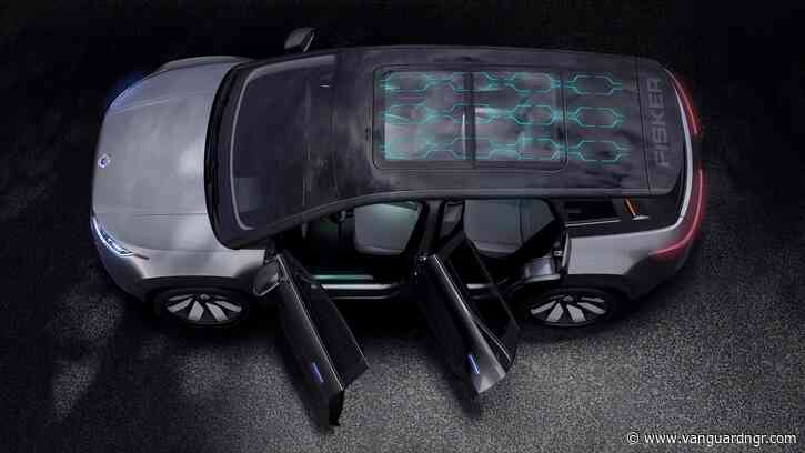 Fisker debuts $37,500 electric SUV with a solar roof