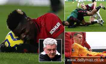Premier League managers count the cost of hectic festive fixture list as injuries mount