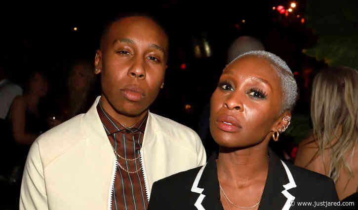 Cynthia Erivo Hangs Out with Pal Lena Waithe at Golden Globes After-Party