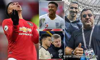 Jesse Lingard has lost his England spot and his Manchester United future is in doubt