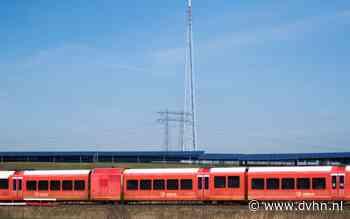 Minder treinen tussen Zuidhorn en Groningen door slagboomstoring