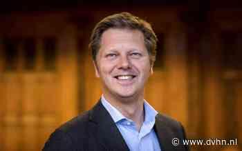 D66-Kamerlid Matthijs Sienot bekijkt duurzame warmtebronnen bij WarmteStad in Groningen
