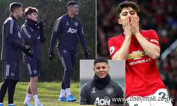 Manchester United winger Daniel James admits he tries to avoid hardman Marcos Rojo during training