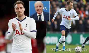 Inter Milan chief Giuseppe Marotta admits interest in Tottenham's Christian Eriksen