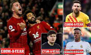 Liverpool leapfrog Premier League rivals in commercial stakes with new Nike kit deal