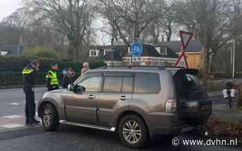 Fietsster gewond bij aanrijding met auto in Glimmen