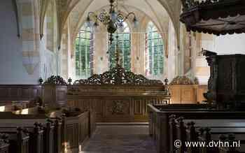 Nachtje kamperen in Hippolytuskerk in Middelstum