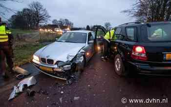 Gewonde bij botsing in Boerakker doordat automobilist de bocht te ruim nam