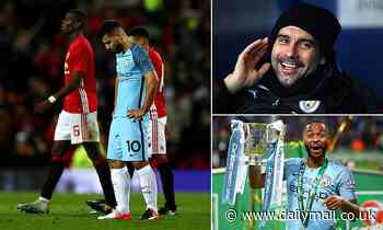 Manchester City last lost in EFL Cup more than THREE YEARS ago to Manchester United