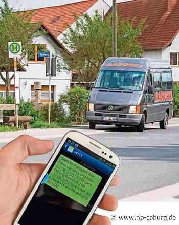 Landkreis Coburg: Rufbus auch online buchbar