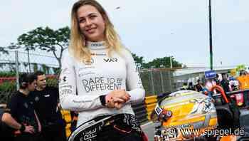 """Formel 3: Sophia Flörsch freut sich """"riesig"""" auf Rückkehr nach Macau"""