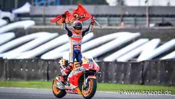 MotoGP: Marc Márquez vorzeitig Weltmeister