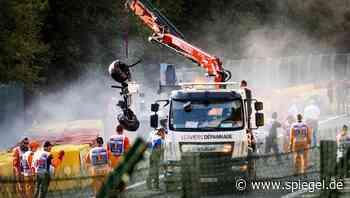 Juan Manuel Correa: Formel-2-Pilot nach Unfall in Belgien nicht bei Bewusstsein