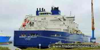 Dynagas Arc7 LNG ship goes in for containment system repairs