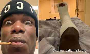 Paul Pogba in high spirits after ankle surgery as Manchester United star deletes posts