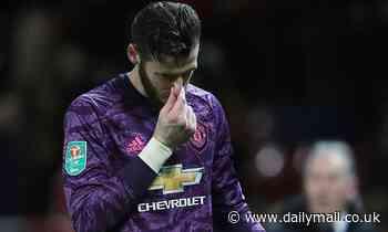 Marcus Rashford praises David de Gea for keeping Manchester United in Carabao Cup semi-final