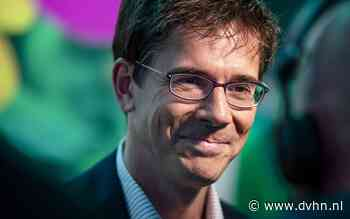 Bas Eickhout geeft klimaatcollege in Assen