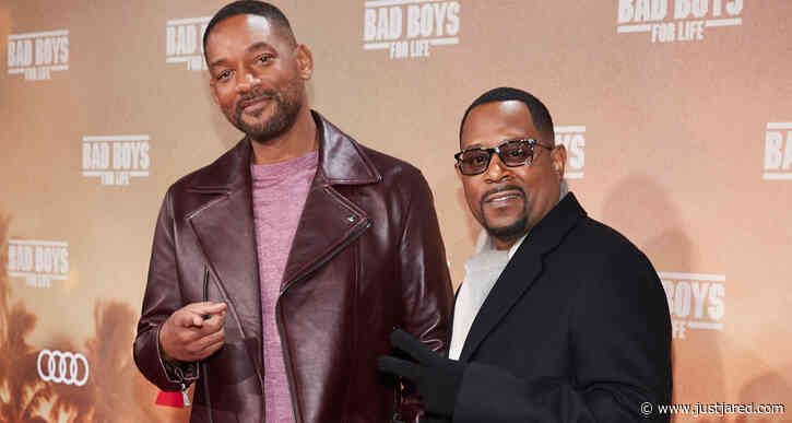 Will Smith & Martin Lawrence Are 'Bad Boys For Life' in Madrid & Berlin!