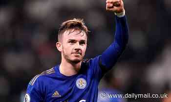 Manchester United 'optimistic they can bring in James Maddison from Leicester in the summer window'