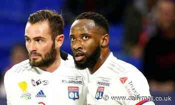 Chelsea and Man Utd scouts watch Lyon striker Moussa Dembele score
