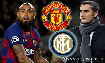 Barcelona boss Ernesto Valverde rules out Man United or Inter Milan move for Arturo Vidal