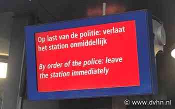 Verdacht pakket in Arriva-trein op station Leeuwarden