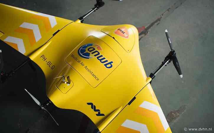 Burgemeester Stadskanaal: 'drone heeft de toekomst in betaalbare zorg'