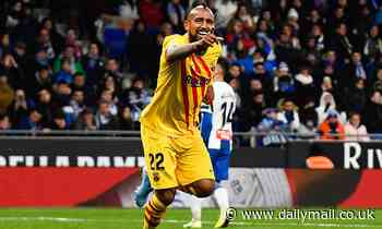 Inter chief admits Barcelona's Vidal is a top transfer target