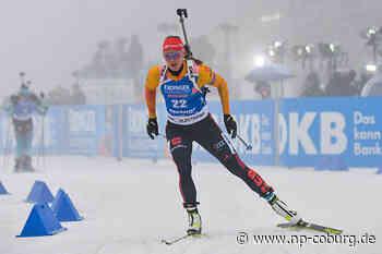 Herrmann beendet als Sprint-Zweite Misere der deutschen Biathletinnen